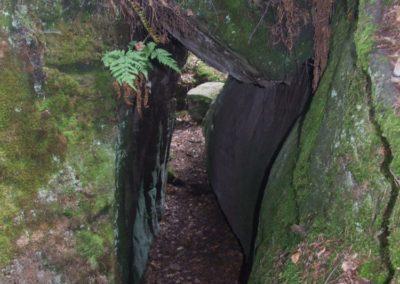 Rajska Brama (Paradise Gate) in Piekło Dalejowskie crag group, Triassic sandstones