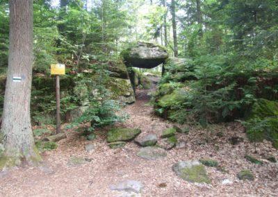 Brama Piekło (Hell Gate), Triassic sandstones